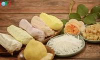 Варёные рисовые лепёшки на праздник холодной пищи