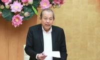 Вице-премьер Чыонг Хоа Бинь отметил необходимость активизации реализации плана правительства по упрощению административных процедур