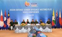 Онлайн-конференция высокопоставленных военных чиновников АСЕАН в расширенном формате