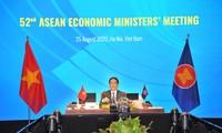 Онлайн-конференция AEM-52: Вьетнам предложил инициативу по восстановлению региональной и мировой экономики