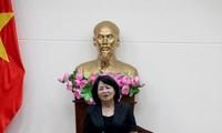 Вице-президент Вьетнама Данг Тхи Нгок Тхинь: Провинция Биньтхуан должна уделять больше внимания административному реформированию