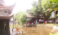 Кукольный театр на воде в деревне Донгнгы