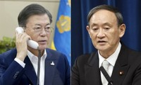 Руководители Японии и Республики Корея обсудили по телефону вопросы двустороннего сотрудничества