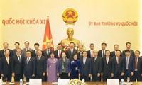 Председатель НС СРВ Нгуен Тхи Ким Нган встретилась с послами и главами диппредставительств Вьетнама за границей