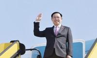 Medien aus Europa schätzen Besuch des vietnamesischen Parlamentspräsidenten Vuong Dinh Hue
