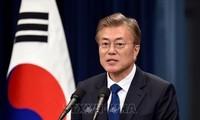 Мун Чжэ Ин предложил объявить об окончании войны на Корейском полуострове