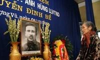 Truy tặng Huân chương Độc lập cho liệt sĩ Nguyễn Đình Bể