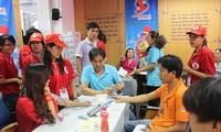 """""""Hành trình đỏ"""" - hiến máu cứu người dừng chân tại các tỉnh Bình Định, Quảng Nam, thành phố Đà Nẵng"""