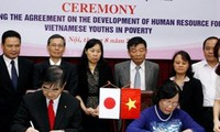 Kỷ Thỏa thuận về phát triển nguồn nhân lực cho thanh niên nghèo Việt Nam