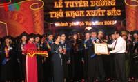 Gặp mặt và Tuyên dương Thủ khoa tốt nghiệp xuất sắc Đại học, Học viện năm 2013