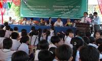 Trường Tiểu học hữu nghị Khmer - Việt Nam  tỉnh Rey Veng, Campuchia khai giảng năm thứ hai
