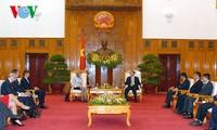 Phó Thủ tướng Vũ Văn Ninh tiếp Thị trưởng Trung tâm tài chính London - Vương quốc Anh
