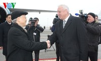 Các hoạt động của Tổng Bí thư Nguyễn Phú Trọng trong chuyến thăm Belarus