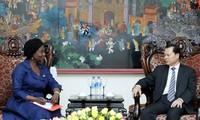 Phó Thủ tướng Vũ Văn Ninh tiếp Giám đốc Ngân hàng Thế giới tại Việt Nam
