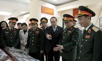 Chủ tịch Ủy ban Trung ương Mặt trận Tổ quốc Việt Nam thăm Học viện Chính trị, Bộ Quốc phòng