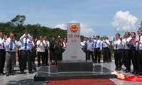 Hoàn thành công tác cắm mốc trên thực địa các tỉnh biên giới Việt Nam - CHDCND Lào