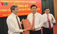 Ông Đinh La Thăng giữ chức Bí thư Thành ủy Thành phố Hồ Chí Minh