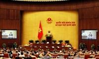 Trình danh sách đề cử để bầu Phó Chủ tịch Quốc hội và Ủy viên Ủy ban Thường vụ Quốc hội