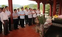 Phó Thủ tướng Vương Đình Huệ thăm khu di tích Truông Bồn, Nghệ An