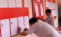 Công tác chuẩn bị cho ngày bầu cử đại biểu Quốc hội, Hội đồng nhân dân các cấp