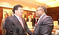 Việt Nam luôn coi trong quan hệ hữu nghị tốt đẹp với Đông Timor và Indonesia