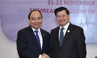 Việt - Lào không ngừng phát triển quan hệ truyền thống đặc biệt