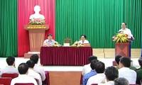 Chủ tịch nước Trần Đại Quang thăm và làm việc tại xã Nghĩa Đồng, Tân Kỳ, Nghệ An
