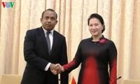 Chủ tịch Quốc hội tiếp Chủ tịch Quốc hội Timor-Leste và Chủ tịch Hạ viện Philippines