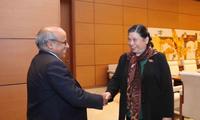 Phó Chủ tịch Quốc hội Tòng Thị Phóng tiếp Trưởng đại diện Quỹ Nhi đồng Liên hợp quốc tại Việt Nam