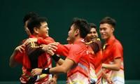 Đội tuyển quần vợt Việt Nam thăng hạng lên nhóm 2 Davis cup khu vực châu Á - Thái Bình Dương