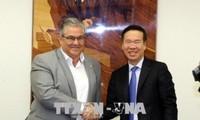 Đoàn đại biểu cấp cao Đảng Cộng sản Việt Nam thăm và làm việc tại Hy Lạp