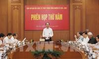 Chủ tịch nước Trần Đại Quang chủ trì Phiên họp thứ năm của Ban Chỉ đạo Cải cách tư pháp Trung ương