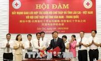 Tăng cường giao lưu, trao đổi kinh nghiệm hoạt động nhân đạo, từ thiện với tỉnh Vân Nam, Trung Quốc