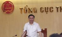 Phó Thủ tướng Vương Đình Huệ làm việc với Tổng cục thuế về Dự án Luật quản lý thuế sửa đổi