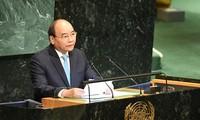 Thủ tướng Nguyễn Xuân Phúc dự Phiên thảo luận cấp cao Đại hội đồng LHQ khóa 73