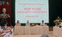 Tổng Bí thư Nguyễn Phú Trọng tiếp xúc cử tri tại Hà Nội