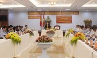Chủ tịch Quốc hội Nguyễn Thị Kim Ngân làm việc với lãnh đạo tỉnh Gia Lai