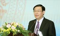 Phó Thủ tướng Vương Đình Huệ tiếp Thống đốc tỉnh Aichi (Nhật Bản)