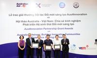 Trao giải thưởng Đối tác Đổi mới sáng tạo Aus4Innovation