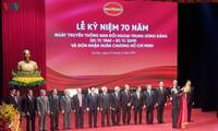 Ban Đối ngoại Trung ương đón nhận Huân chương Hồ Chí Minh