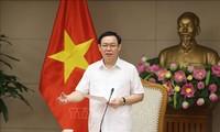 Phó Thủ tướng Vương Đình Huệ tiếp Chủ tịch Tập đoàn Bảo hiểm Thái Bình (Trung Quốc)