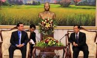 Tăng cường hợp tác hoạt động công đoàn Việt Nam - Lào
