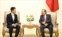 Phó Thủ tướng Trương Hòa Bình đề nghị tỉnh Ibaraki (Nhật Bản) tăng cường tiếp nhận thực tập sinh và lao động Việt Nam