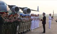 Tiếp tục khẳng định uy tín, năng lực của bệnh viện dã chiến Việt Nam khi tham gia gìn giữ hòa bình Liên hợp quốc