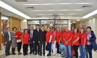 Lãnh đạo Ủy ban Nhà nước về người Việt Nam ở nước ngoài tiếp đoàn kiều bào New Caledonia