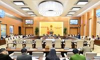 Ủy ban TVQH cho ý kiến dự án Luật sửa đổi, bổ sung Luật Tổ chức Quốc hội