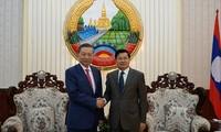 Việt Nam và Lào tăng cường hợp tác an ninh