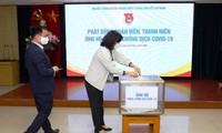 Trung ương Đoàn TNCS Hồ Chí Minh ủng hộ gần 400 triệu đồng phòng, chống dịch bệnh Covid-19