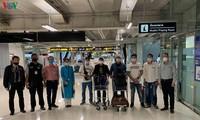 Đưa 7 công dân Việt Nam bị kẹt tại sân bay Thái Lan về nước