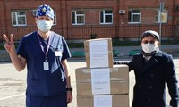 Cộng đồng người Việt ở Saint Petersburg hỗ trợ bệnh viện Pokrovskaya
